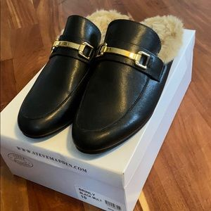 BNWT Steve Madden Brinly Mules size 10